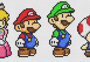 I will create pixel art of your choice