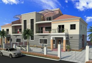 I will model and render a 3-Bedroom Bungalow Design